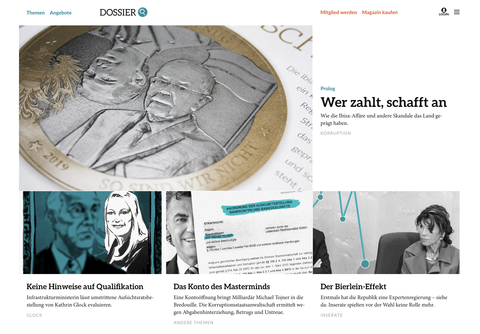 DOSSIER-Website: Redesign